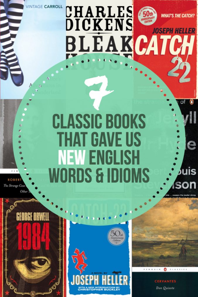 7 Classic Books That Gave Us New English Words & Idioms - Keeping Up With The Penguins
