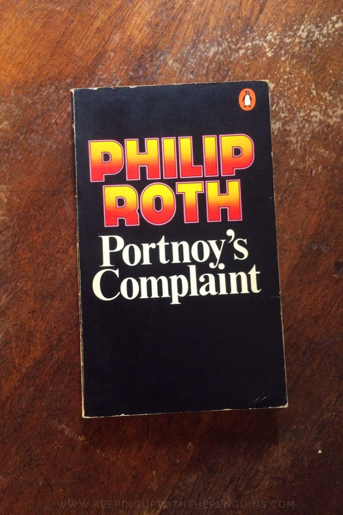 Portnoy's Complaint - Philip Roth - Penguin Australia Edition Laid Flat On Wooden Table - Keeping Up With The Penguins