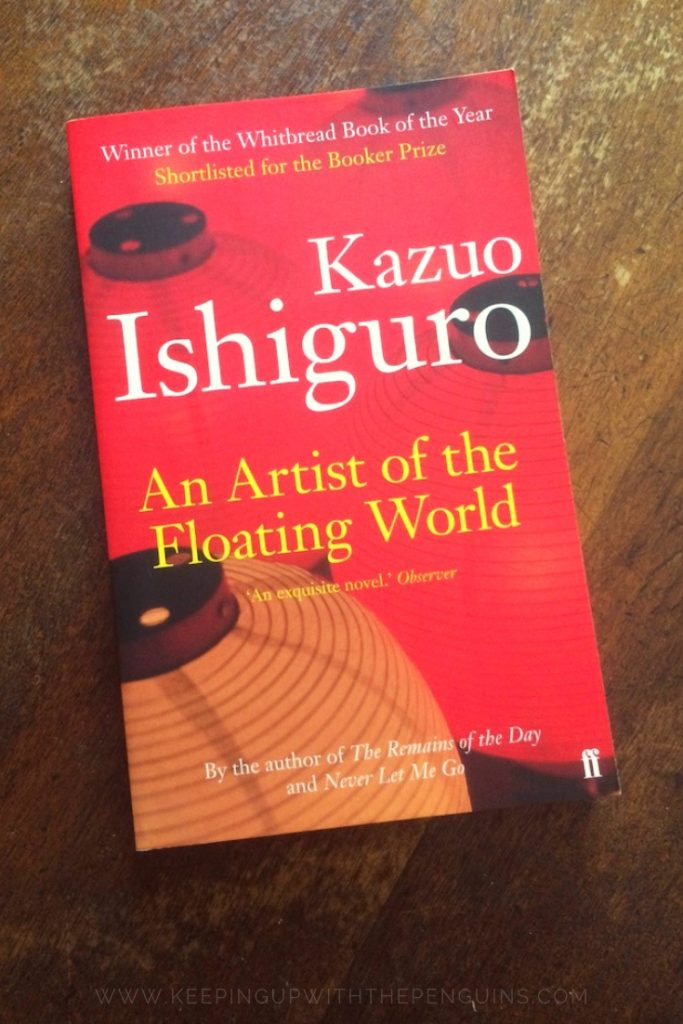 An Artist Of The Floating World - Kazuo Ishiguro - Book Laid on Wooden Table - Keeping Up With The Penguins