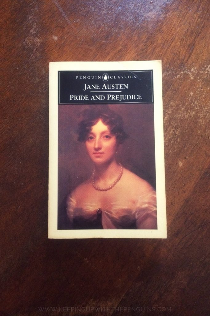 Pride And Prejudice - Jane Austen - Book Laid on Wooden Table - Keeping Up With The Penguins