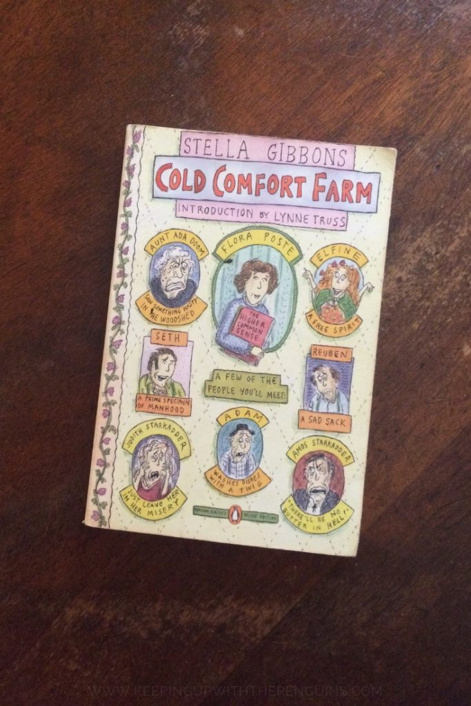 Cold Comfort Farm - Stella Gibbons - Book Laid on Wooden Table - Keeping Up With The Penguins