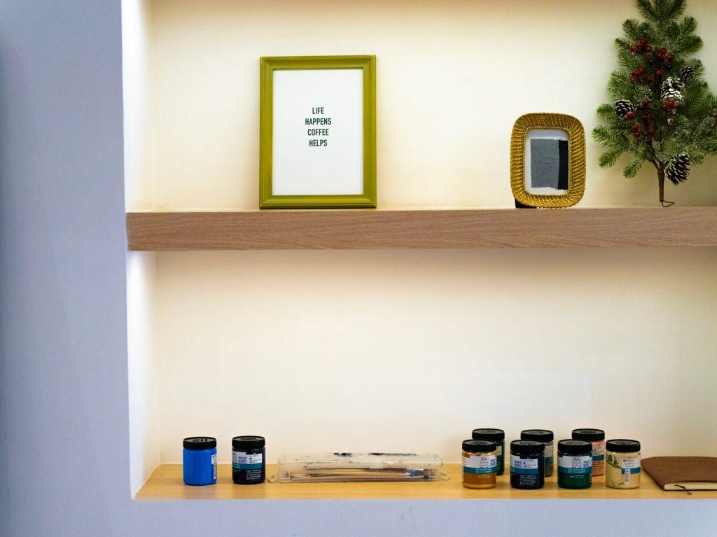 Clean Minimalist Shelves